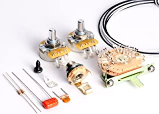 ToneShapers Wiring Kit, Telecaster, HH1 (Big Apple - Requires 4-Conductor Humbuckers)