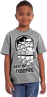 LEGO Boys Star Wars Stormtrooper Keep on Trooping Tee Shirt