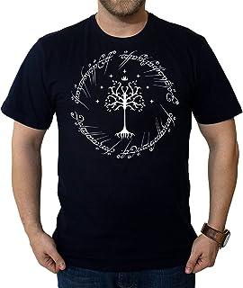 Camiseta O Senhor Dos Anéis Árvore Branca Camisa Nerd