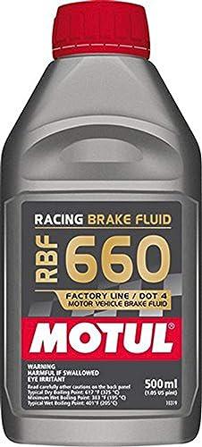 Motul 101666 RBF 660Racing Liquide de Frein, 0.5L