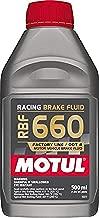 Motul MTL101667 101667 RBF 660 Dot-4 100 Percent Synthetic Racing Brake Fluid-500, 500. ml