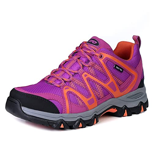 0237b3962cc524 The First Outdoor Women s First-Tex Water-Resistant Breathable Lightweight  Hiking Running Shoes Outdoor