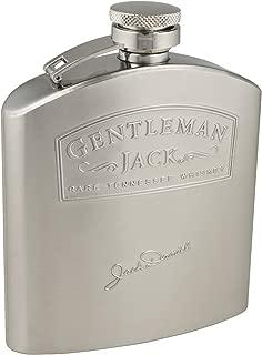 Jack Daniel's Licensed Barware Gentleman Jack Flask, 5-Ounce