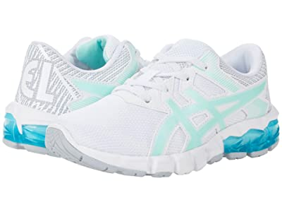 ASICS Kids GEL-Quantum 90 2 (Toddler/Little Kid) (White/Fresh Ice) Girls Shoes