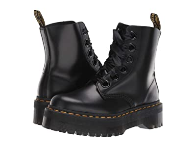 Dr. Martens Molly Quad Retro (Black Buttero) Women