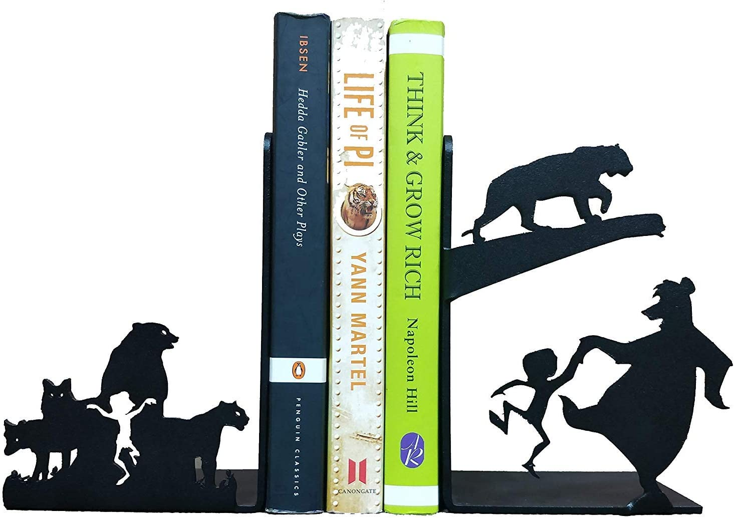 Wgloryind sold out Decorative Metal Bookend Childrens New item Skid Decor Non Room
