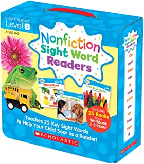 Scholastic SC-584282 Nonfiction Sight Word Readers Set, Level B (Pack of 27)