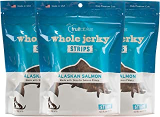 Fruitables Whole Jerky Alaskan Salmon Dog Treats 5 Ounce