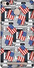 Xiaomi Redmi 3S Prime Case, Premium Handcrafted Designer Hard Shell Snap On Case Shockproof Printed Back Cover for Xiaomi Redmi 3s - USA Flags