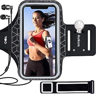 """Autkors Sportarmband Handy für iPhone 12/12 Pro/11/11 Pro/X/XS/XR/7/8 bis zu 6,1"""", Schweißfeste Handytasche Sport Armband ..."""