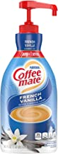 Coffee-mate 31803 Liquid Coffee Creamer, French Vanilla, 1500mL Pump Bottle