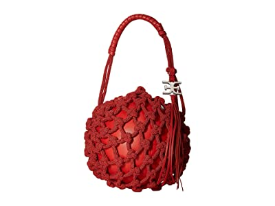 Sam Edelman Robyn Caged Ball (Coral Punch) Handbags