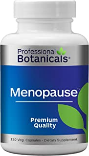 Professional Botanicals Menopause - Vegan Menopause Supplement for Women Chaste Berry Extract, Black Cohosh Root Extract f...