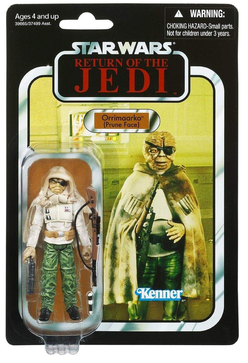 Star Wars Return Of The Jedi The Vintage Collection Orrimaarko (Prune Face) Figure