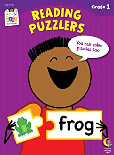 Reading Puzzlers Stick Kids Workbook, Grade 1 (Stick Kids Wo
