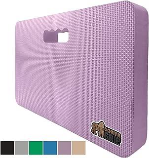 Gorilla Grip Original Premium Thick Kneeling Pad, Comfortable Foam Mat to Kneel On, Knee Pad Cushion for Gardening, Yard Work, Yoga and Bath Room Floor for Baby Bath, 17.5 x 11 Inch x 1.5 Inch, Purple