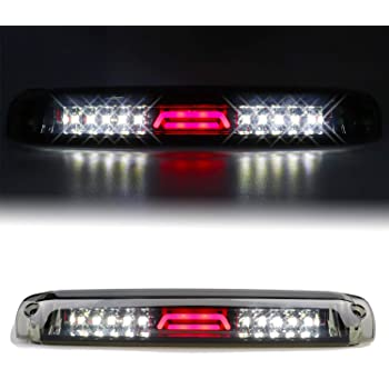 Red Lens 3rd Brake Light for 1999-2007 Chevrolet Silverado//GMC Sierra 1500 2500HD 3500 Third Cargo Lamp High Mount Stop Light Reversing Light