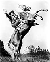Posterazzi Roy Rogers Riding Trigger Ca. 1940S Photo Poster Print, (8 x 10)