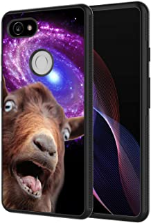 Google Pixel 3 XL Case, AIRWEE Slim Shockproof Silicone TPU Back Protective Cover Case for Google Pixel 3 XL (2018), Funny Space Goat Meme