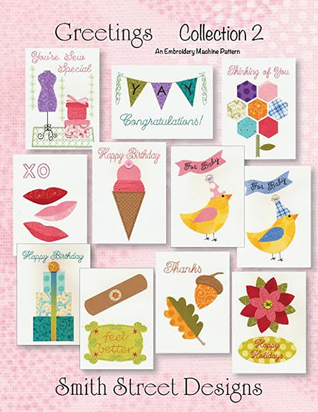 Smith Street Designs SSD9049 Greetings Collections 2 Pattern