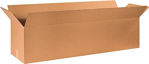 "BOX USA B481212 Long Corrugated Boxes, 48""L x 12""W x 12""H, Kraft (Pack of 10)"