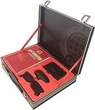 Spy Master Briefcase Black Spy kit - Secret agent mission handbook with top spy gear and gadget surveilance