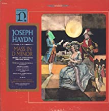 Haydn, Mass in D minor (Missa in Angustiis): Swarowsky, Vienna State Opera [LP Record]