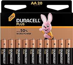 Duracell Plus AA Mignon Alkaline Batterien LR6 (20er Pack)
