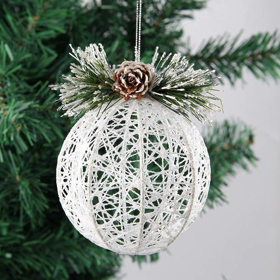 導出哀れな売るクリスマス オーナメント クリスマスツリー 直径9cm 定番 おしゃれ 飾り付け デコレーション ボール 北欧風 手作り 可愛い Zeonetak