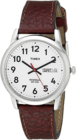 Timex - Easy Reader Brown Leather Watch #T20041