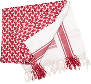 Shemagh Scarf - Red/White