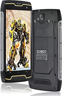 Rugged Smartphone CUBOT King Kong CS, IP68 Waterproof Unlocked Cell Phones, 13MP+8MP, 16GB ROM, Android 10, 5.0″ Display, ...