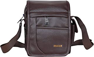 Handcuffs BF0005 Leather Messenger Bag (Brown)