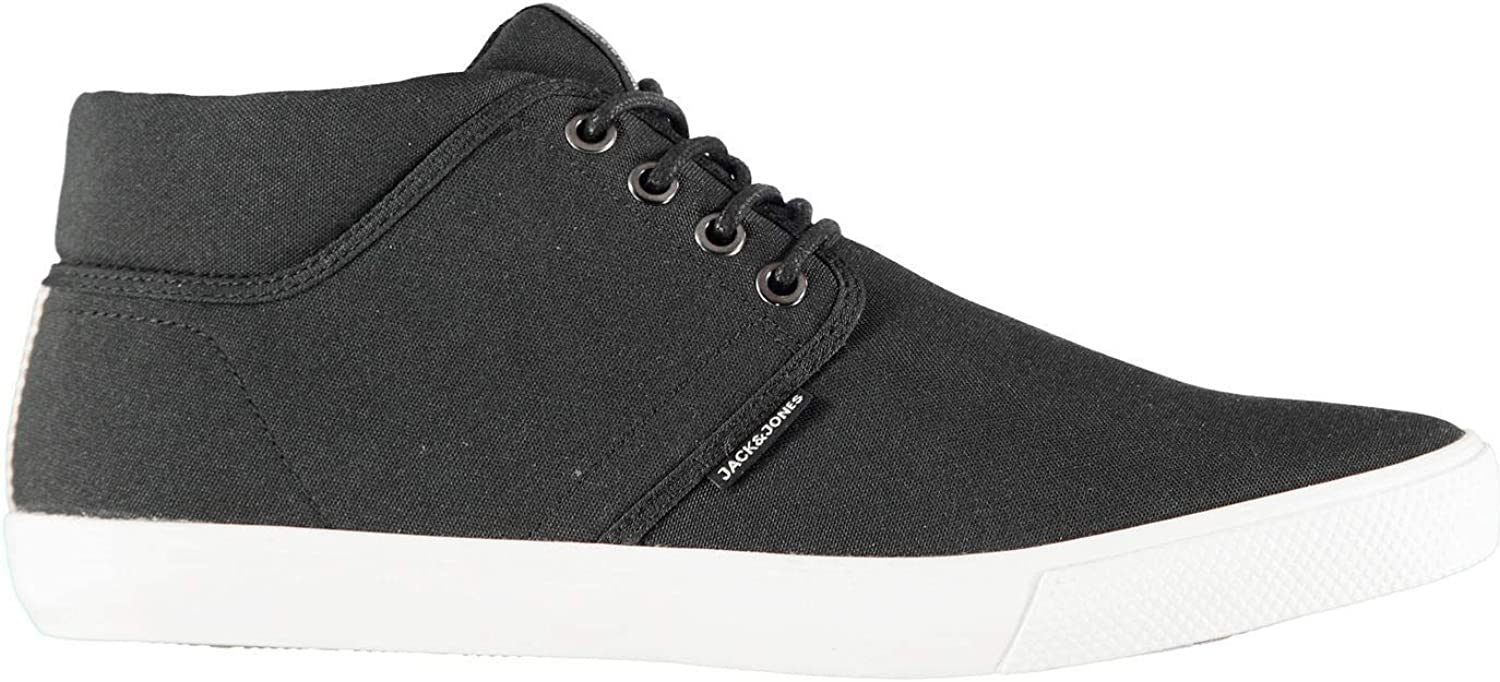 Official Jack and Jones Vince Mid Top Trainers Mens Athleisure Footwear shoes Sneakers