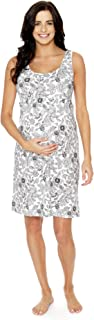 2 in 1 Maternity Nursing Nightgown Nightdress Hospital Bag Must Have, Pregnancy Breastfeeding