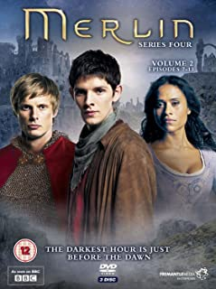 Merlin Series 4 - Volume 2 BBC anglais