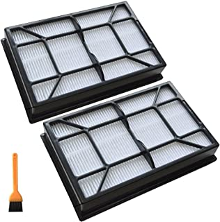 EZ SPARES 2PCS Replacement for Kenmore Hepa Vacuum Media Filter Ef-9#53296#40195 with Small Cleaning Brush by Kenmore