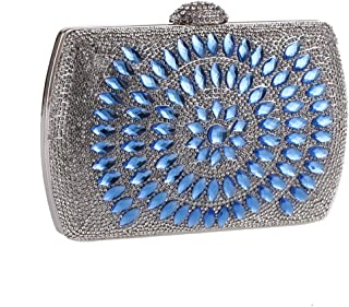 Fly Exquisite Rhinestone Banquet Bag European American Evening Bag Luxury  Clutch Evening Bag aa1b580b6d5c