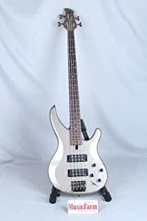 Yamaha 4-String Bass Guitar, Right Handed, Pewter, 4-String (TRBX304 PWT)