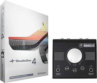 Presonus Studio One 4 Pro Upgrade Artist/Producer v. 1/2/3 to Pro 4.0+Controller