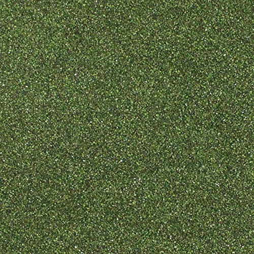 Dekosand / Farbsand (0,1 - 0,5 mm), 1 kg, olive