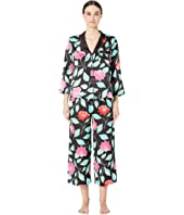 Kate Spade New York - Charmeuse Cropped Pajama Set
