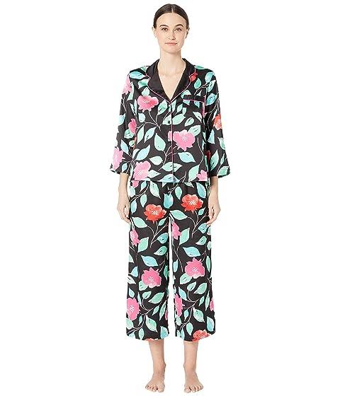 Kate Spade New York Charmeuse Cropped Pajama Set