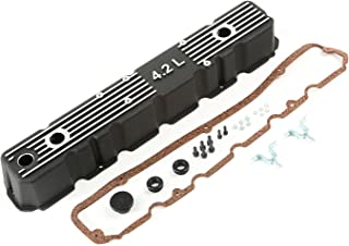 Rugged Ridge 17401.21 Black Aluminum Valve Cover Kit
