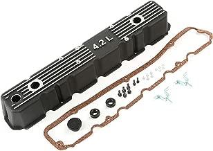 Rugged Ridge 17401.21 Black Aluminum Valve Cover Kit