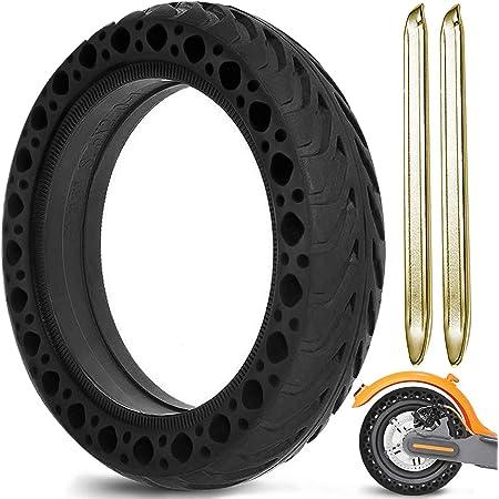 Th-some Repuesto Neumático Rueda para Xiaomi M365 - Ruedas Macizas para Patinete Electrico, Neumáticos de Reemplazo Sólidos de 8,5 Pulgadas con 2 ...