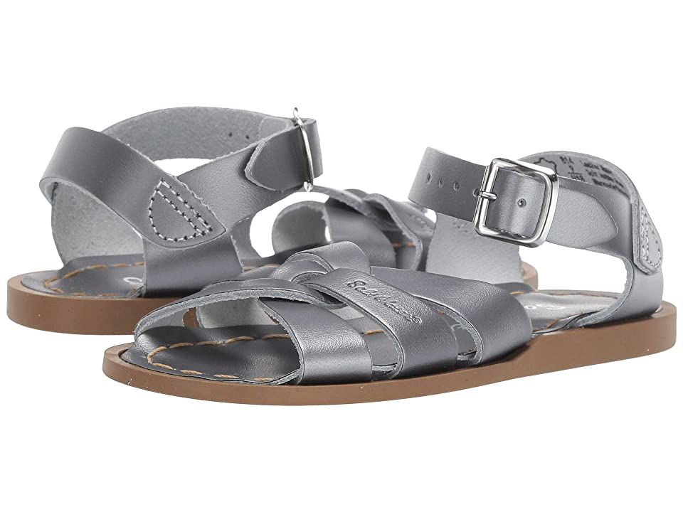 Salt Water Sandal by Hoy Shoes The Original Sandal (Toddler/Little Kid) (Pewter) Girls Shoes