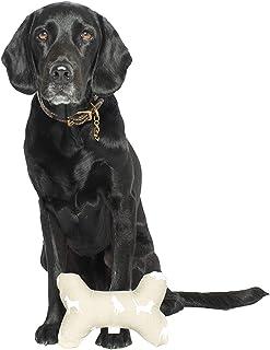 MOG & BONE Printed Bone Soft Toy Oatmeal Designer Dog Print