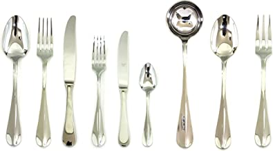 Mepra 39-Piece Hollow Handle Roma Flatware Set