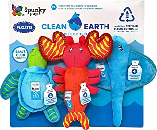 y Pup Clean Earth Recycled Plush Dog Toys (3 Pack)